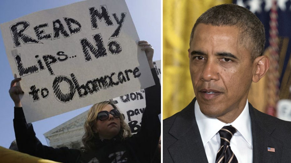 Poll: Support for ObamaCare hits record low