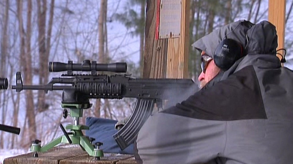 Cops barred from gun range over semi-automatic rifle ban