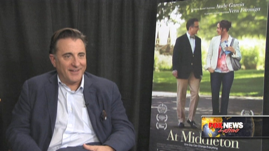 Andy Garcia Faces Midlife Crisis, Falls In Love In New Self