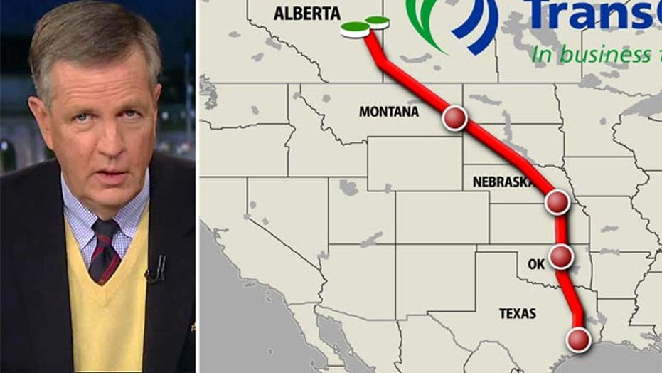 Hume: Keystone XL Pipeline should be a no-brainer for Obama