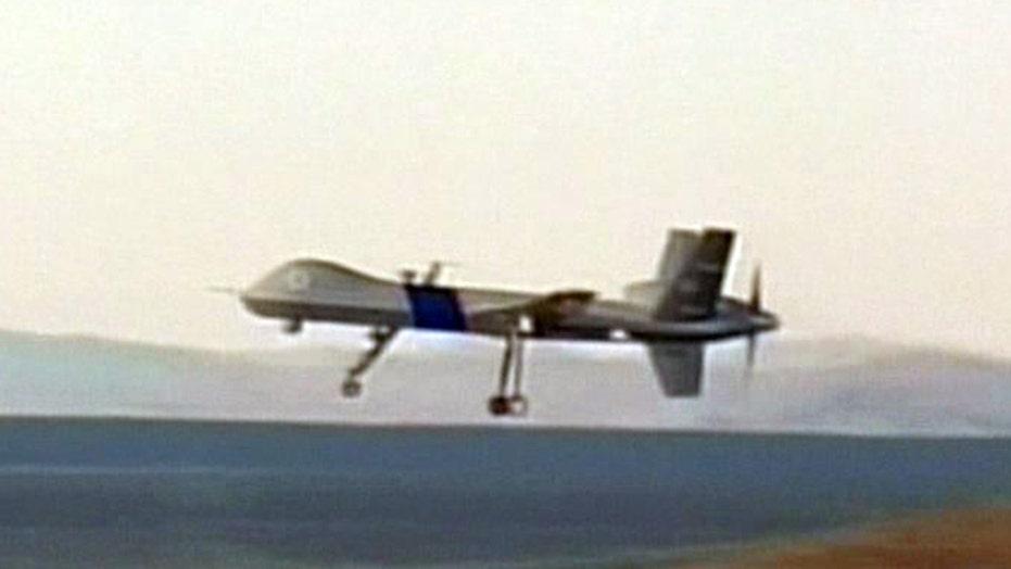 $12 million drone crashed after mechanical problem