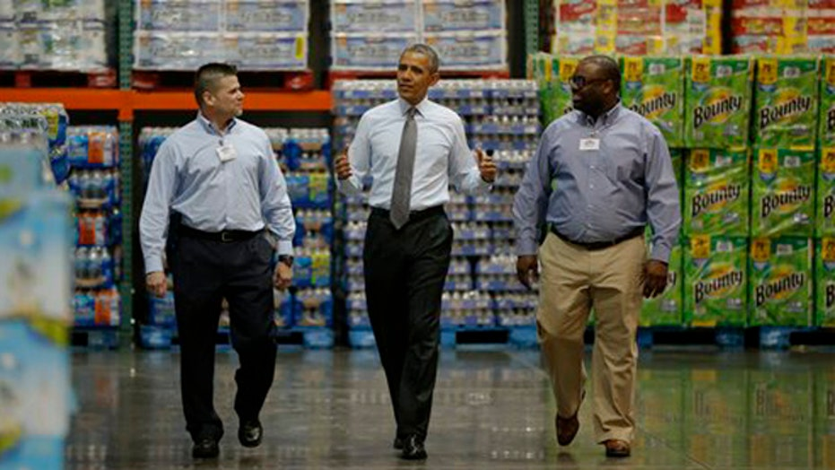 How will Obama's minimum wage demands impact businesses?