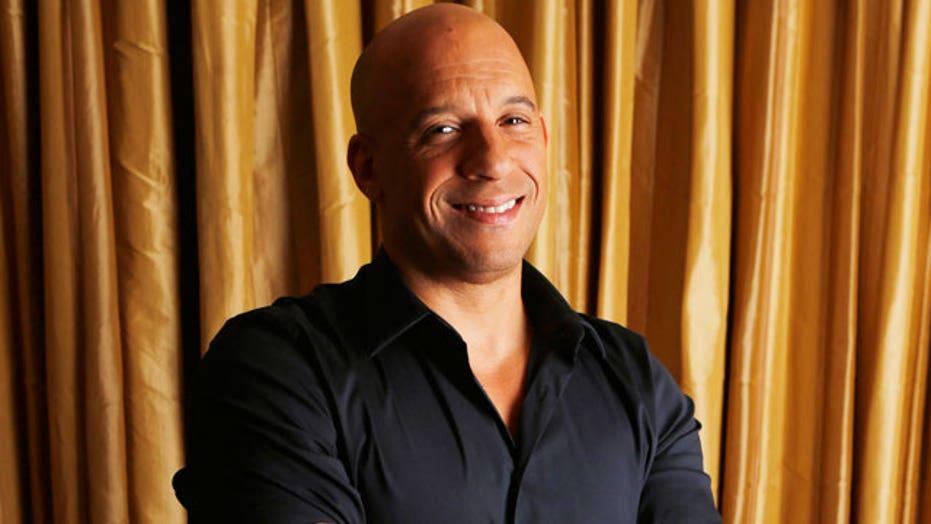 Vin Diesel gets groovy