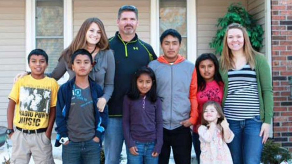 Family takes in 5 orphans after learning of plight in email