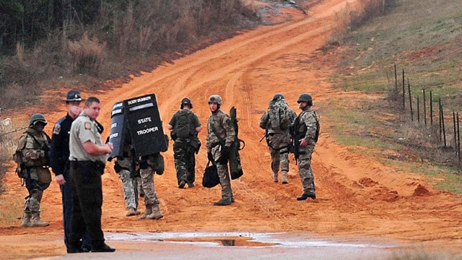 Hostage standoff in Alabama