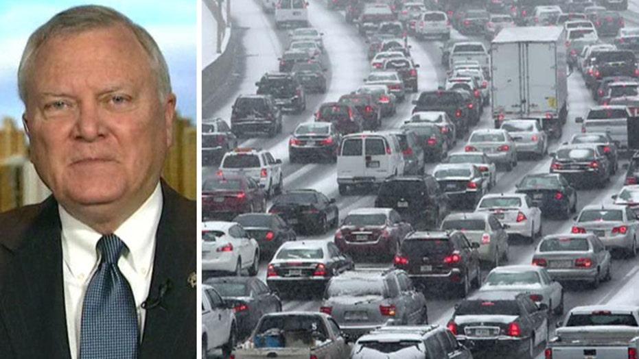 Georgia governor addresses criticism over storm response