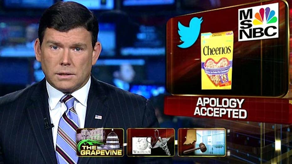 Grapevine: Tweeting trouble for MSNBC
