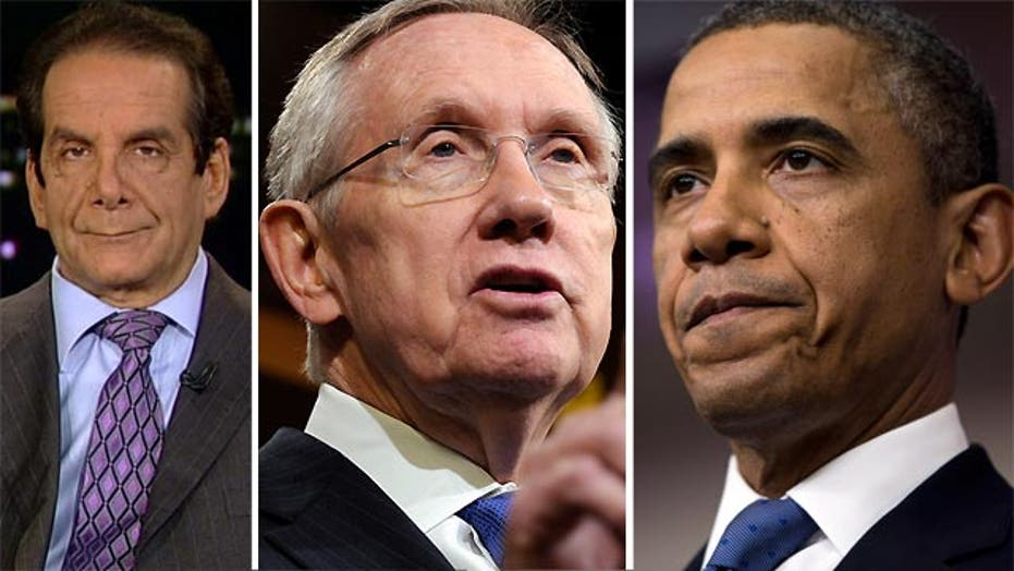 Krauthammer: 'Is he the president or will Reid decide?'