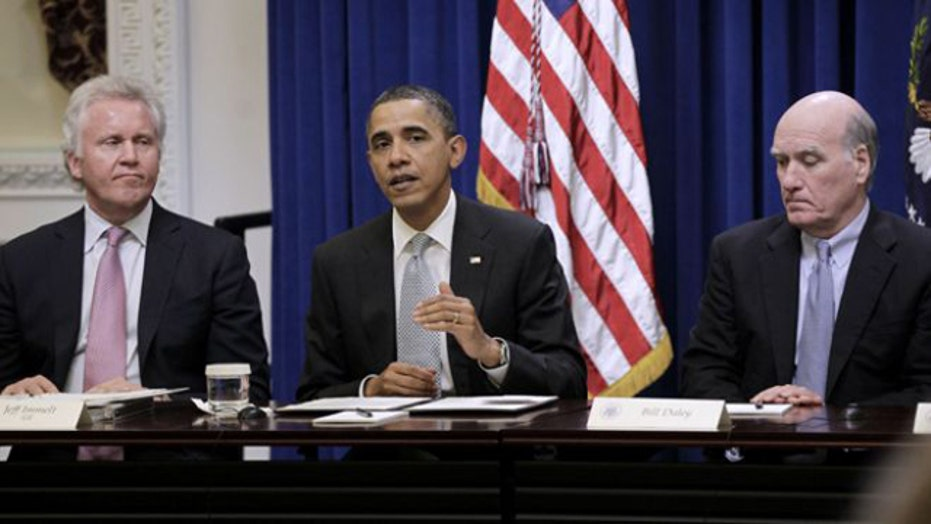 Pink slips for Obama's jobs council