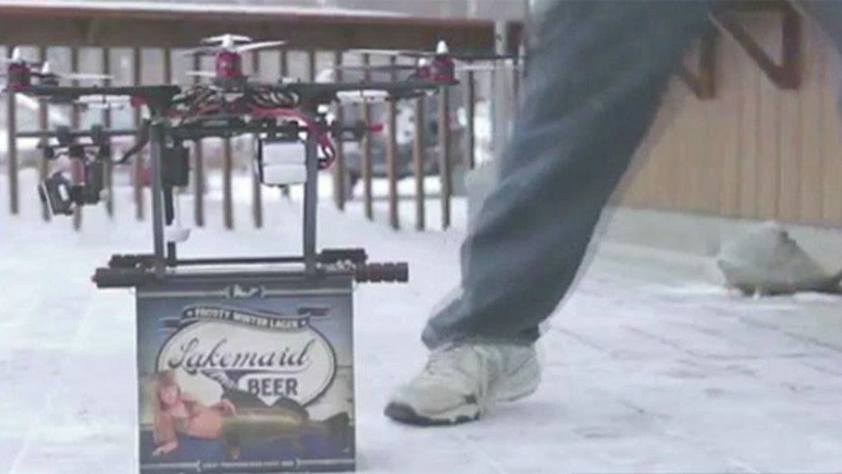 FAA grounds brewery's beer-delivering drone