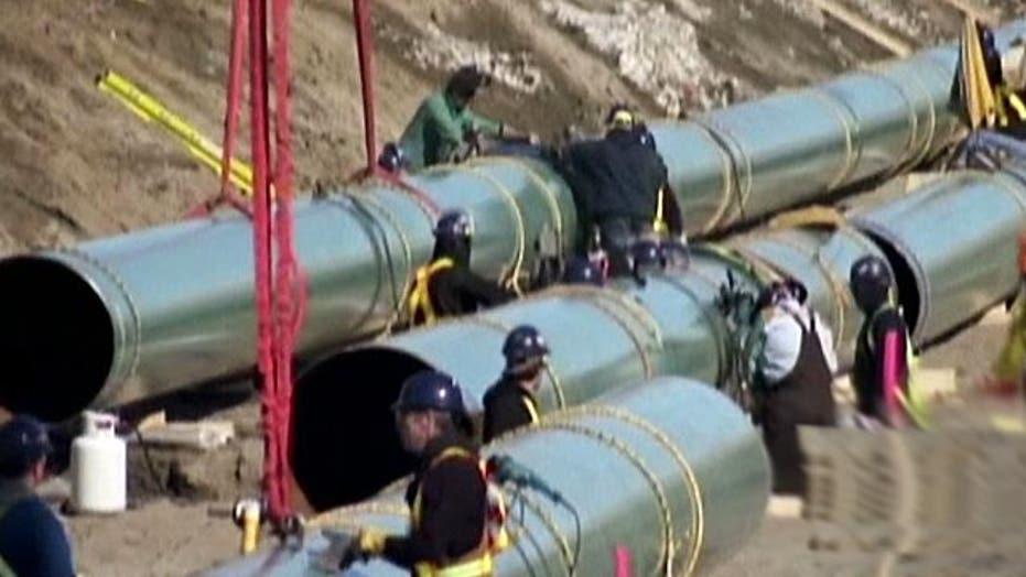 Keystone pipeline one step closer to reality?