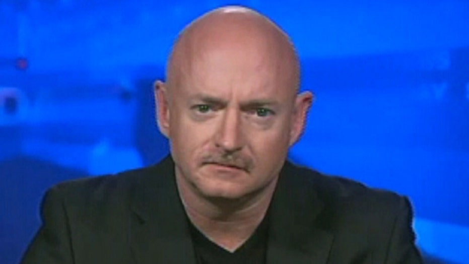 Capt. Mark Kelly: 'This isn't about the Second Amendment'