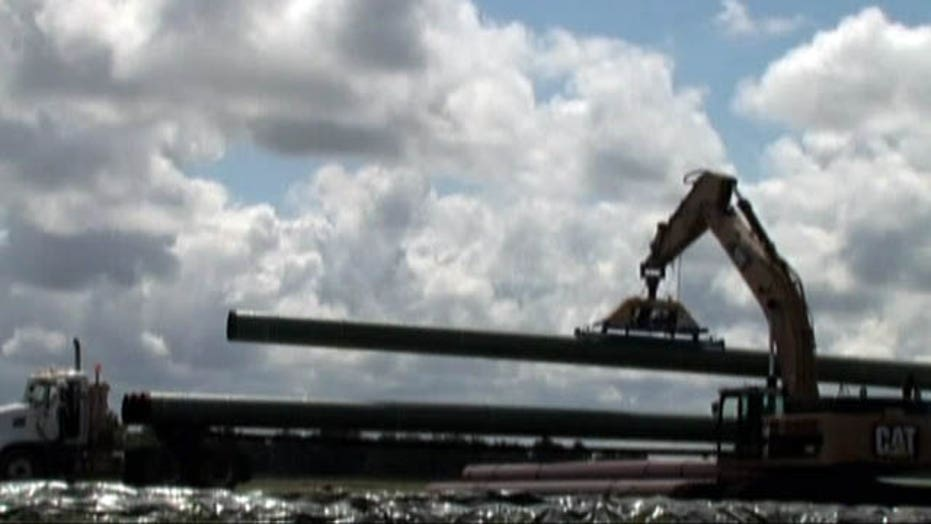 Obama waiting on agencies to assess Keystone pipeline