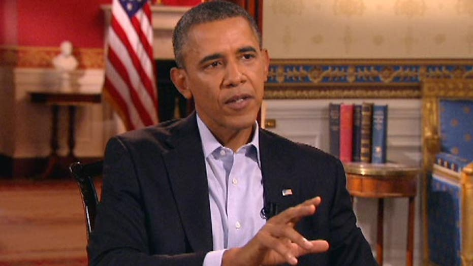 Obama scapegoating Fox News for 'phony scandals'?