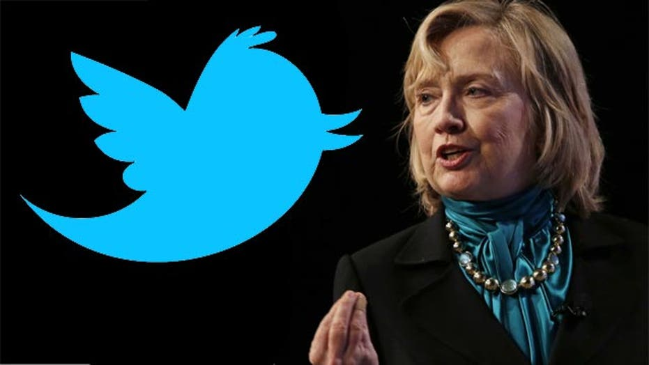 Hillary Clinton catches attention for Fox tweet