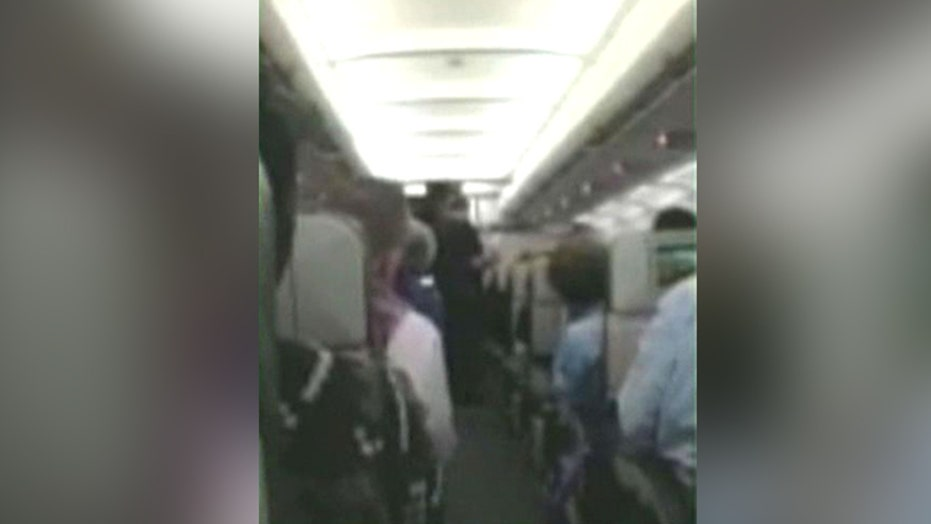 Flight diverted due to 'unruly passenger'