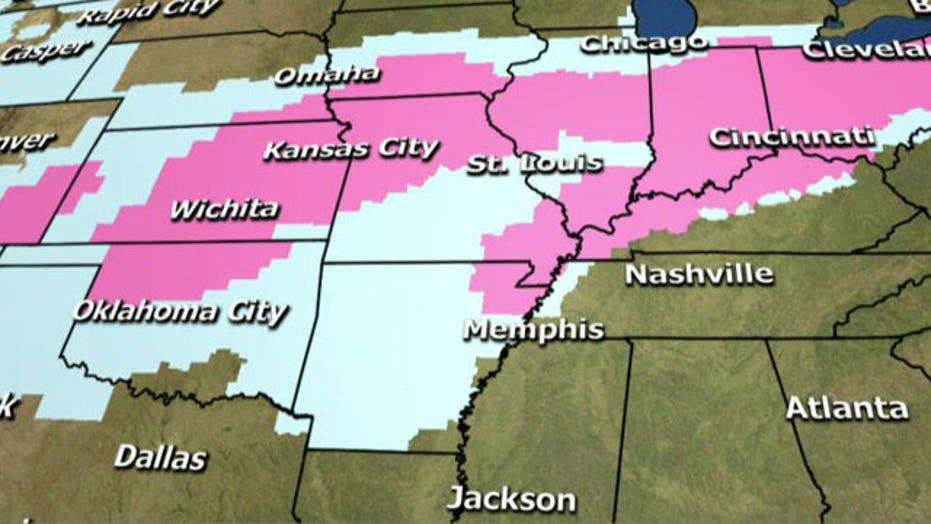 National forecast for Tuesday, February 4