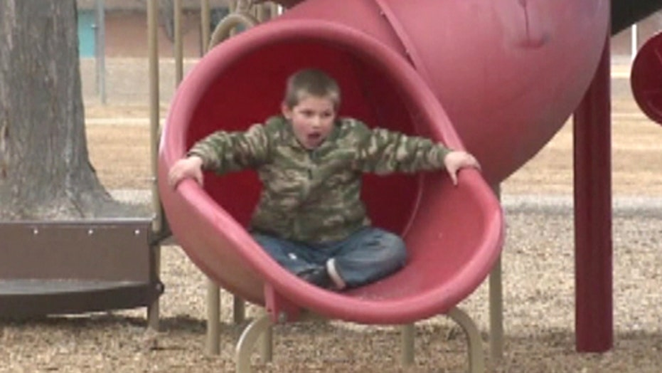 Imaginary game gets 7-year-old suspended for real