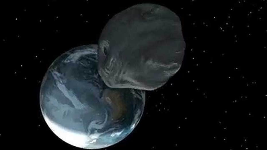 50-foot-wide asteroid expected within 17,200 miles of earth