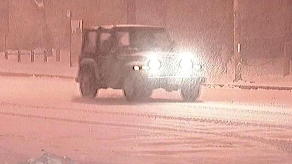 Snow creates travel concerns in New England
