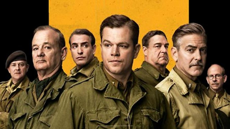 Is 'The Monuments Men' a misfire?