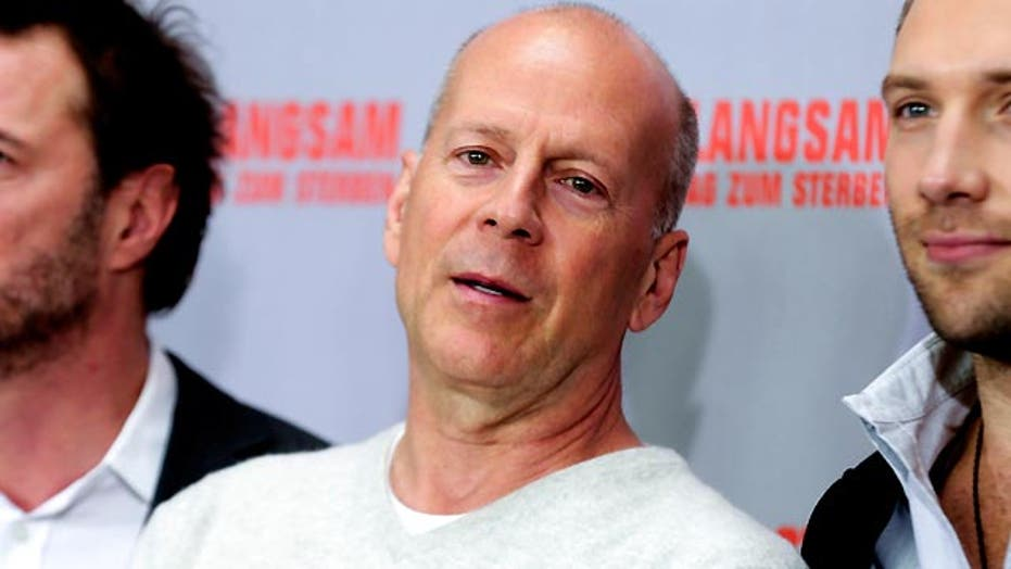 Bruce Willis isn't slowing down