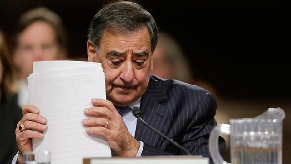 Sec. Panetta  answers questions about Libya