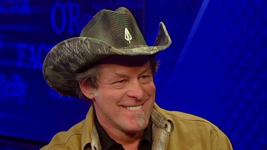 Ted Nugent enters the 'No Spin Zone'