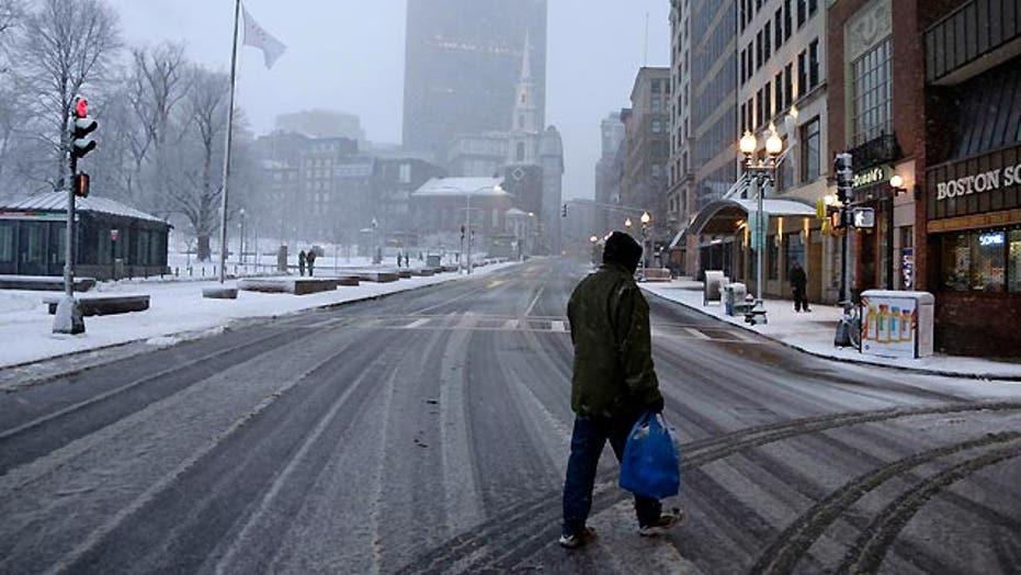 Massachusetts orders drivers off the road