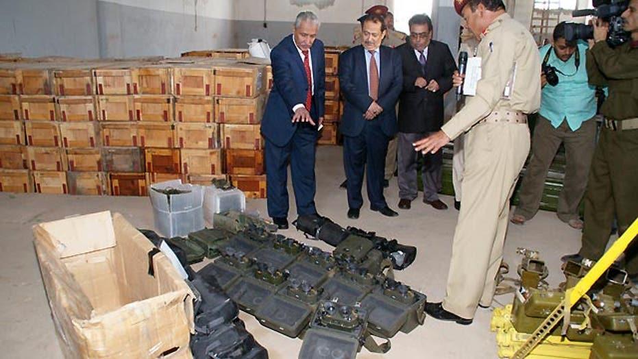 Iranian fingerprints on weapons smuggling bust near Yemen