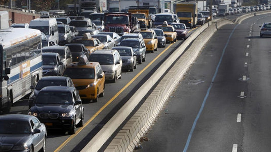 Massive infrastructure spending to ease national gridlock