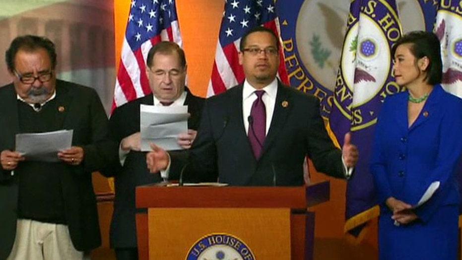 Democrats push new tax hikes, defense cuts
