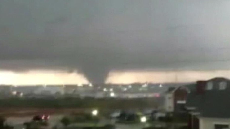 Tornado in Hattiesburg, Mississippi
