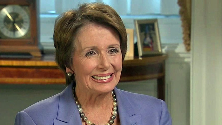 Rep. Nancy Pelosi: Spending cuts hinder growth