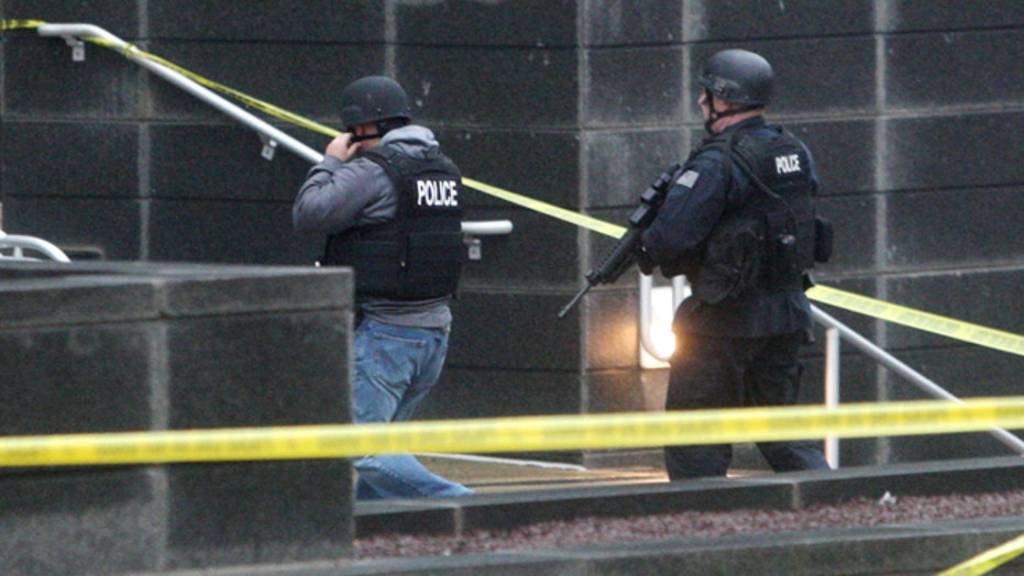 Police: 3 dead in Delaware courthouse shooting