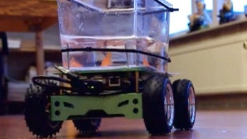 The car a fish can drive