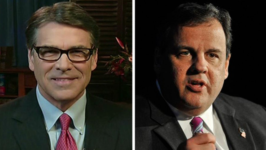 What does Gov. Rick Perry really think of Christie?