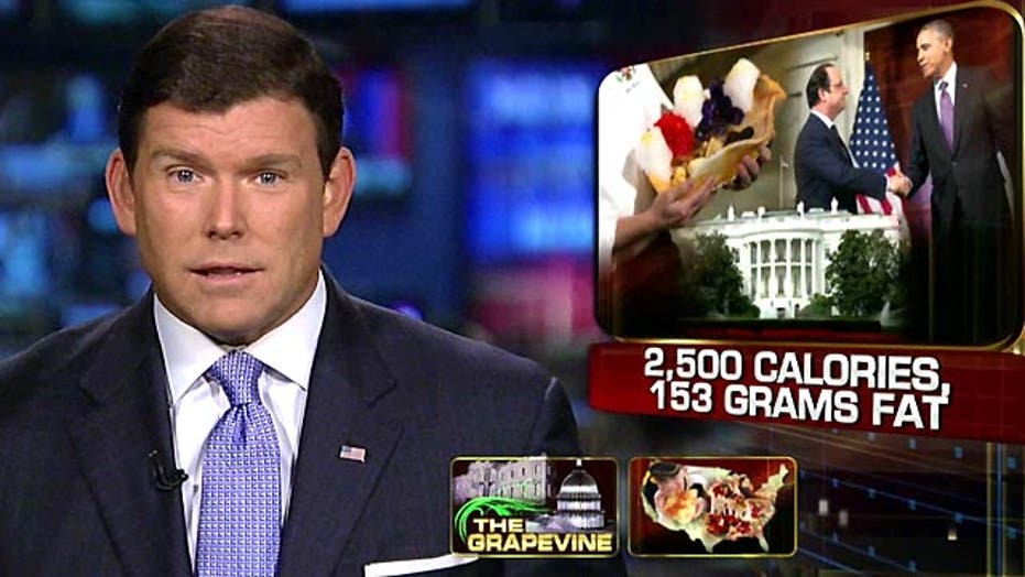 Grapevine: Counting calories at White House state dinner