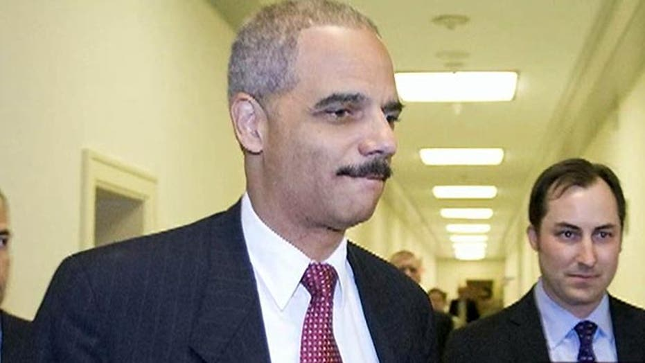 Eric Holder aims to leave his mark before leaving his job