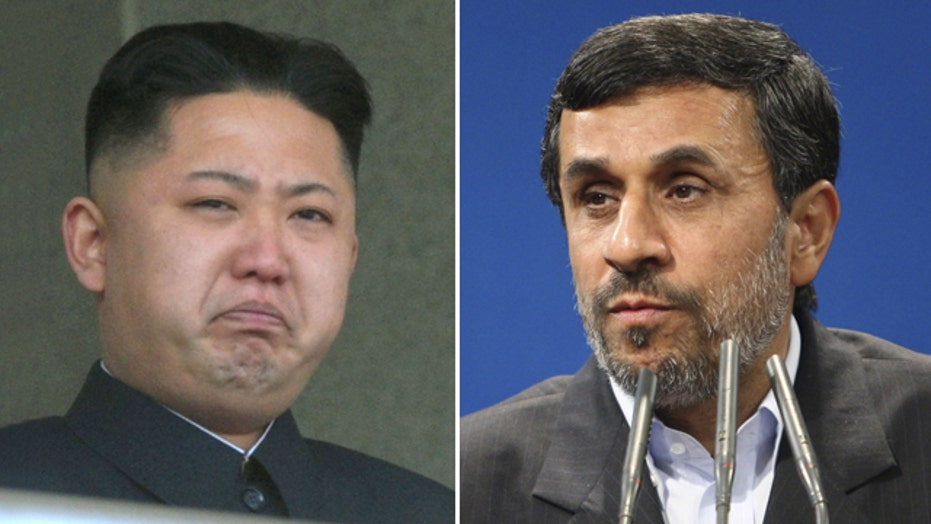 Latest concerns over 'axis of evil' in North Korea, Iran