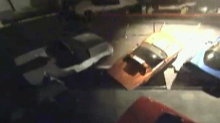 Sinkhole swallows vintage cars at National Corvette Museum