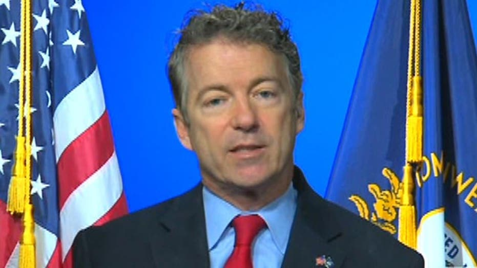Rand Paul on suing Obama