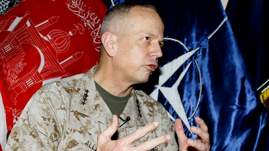 Gen. John Allen pushed out of top NATO post?