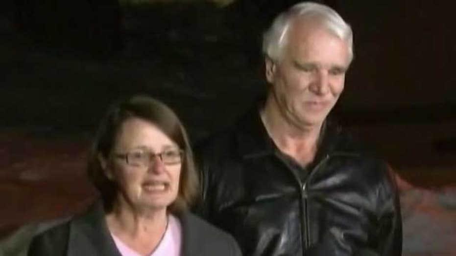 Couple describes run-in with suspected cop killer