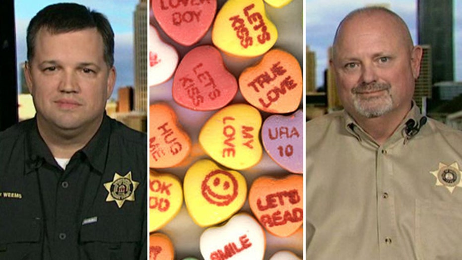 Sheriff cancels Valentine's Day due to weather?