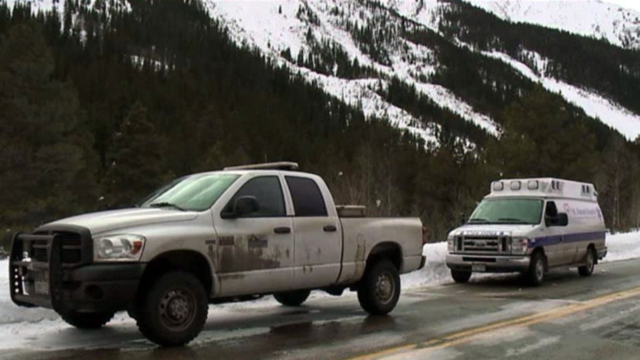 Crews recover bodies of skiers killed in Colorado avalanche