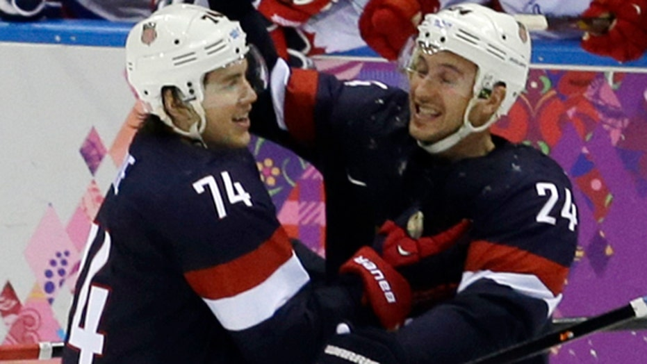 US hockey team echoes 'Miracle on Ice' in dramatic win