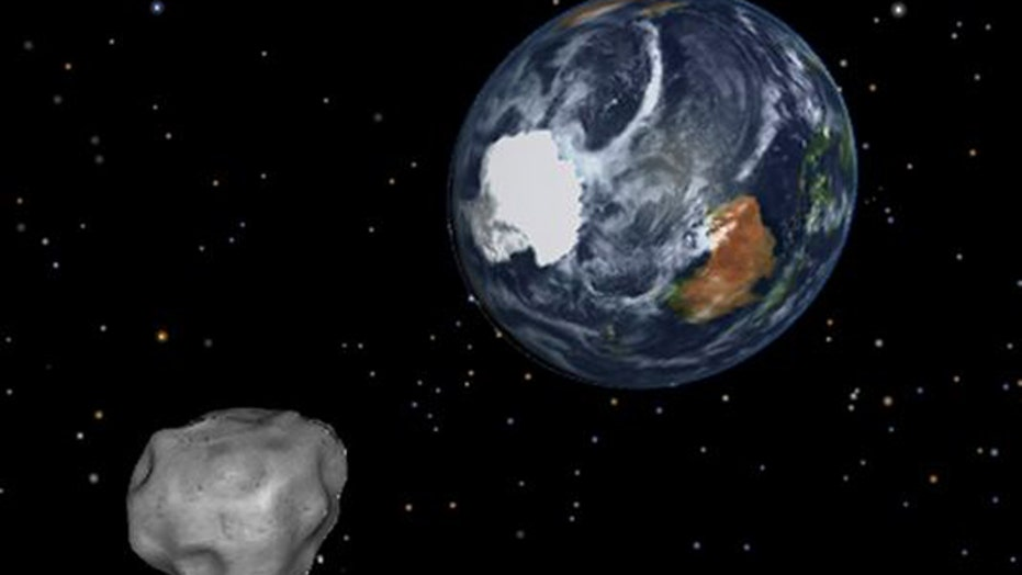 Enormous asteroid set for flyby with Earth