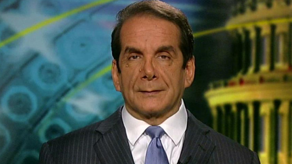 Krauthammer supports drone program?