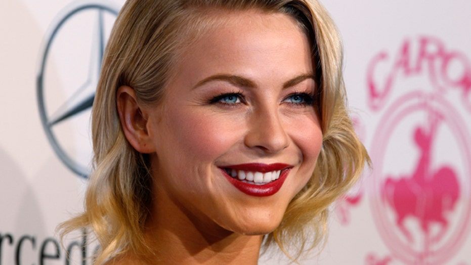 Julianne Hough spotted with new man